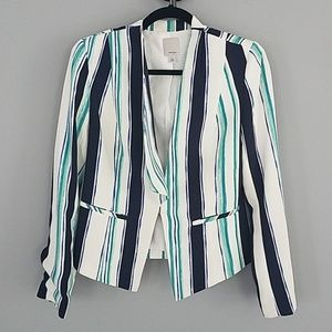 Halogen blazer topper jacket
